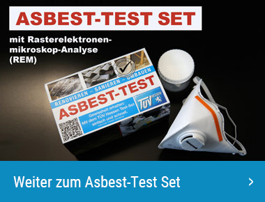 Asbest-Test inkl. Analyse